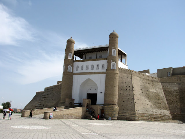 Uzbekistán, Bujara - el Ark