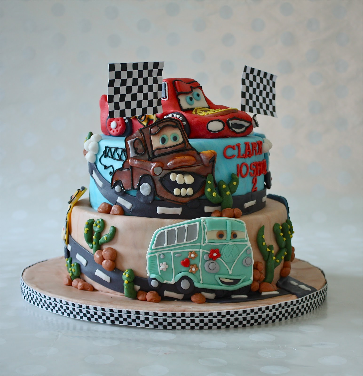 Car Cakes For Boy Birthday : -: THE CARS CAKE
