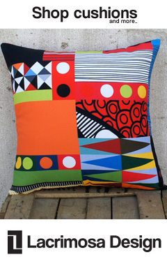 E-shop with amazing pillows, bags, aprons and more!