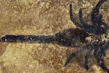 Ditemukan Fosil Kalajengking Pertama yang Bisa Berjalan