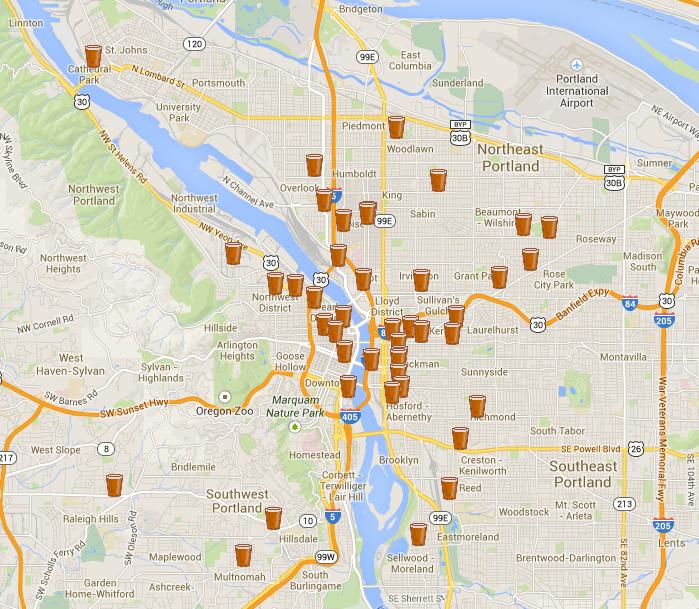 http://www.portlandbeer.org/breweries/map/