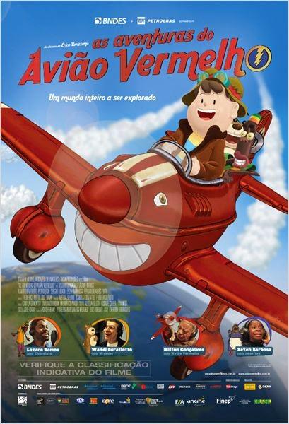Baixar Filme As Aventuras do Avião Vermelho Nacional Torrent