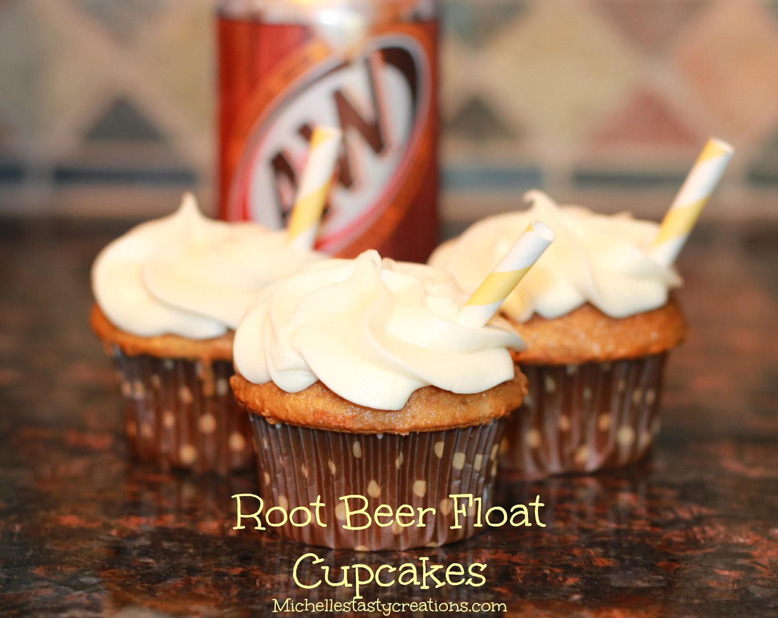 Michelle's Tasty Creations: Root Beer Float Cupcakes