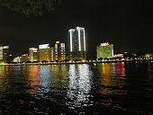 Lights across the Pearl River