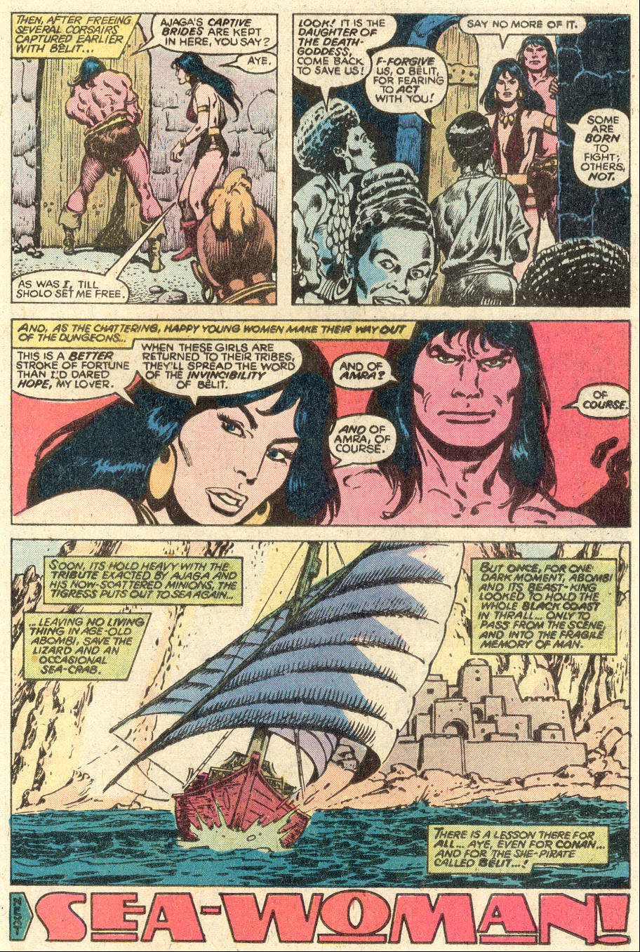 Conan the Barbarian (1970) Issue #97 #109 - English 18