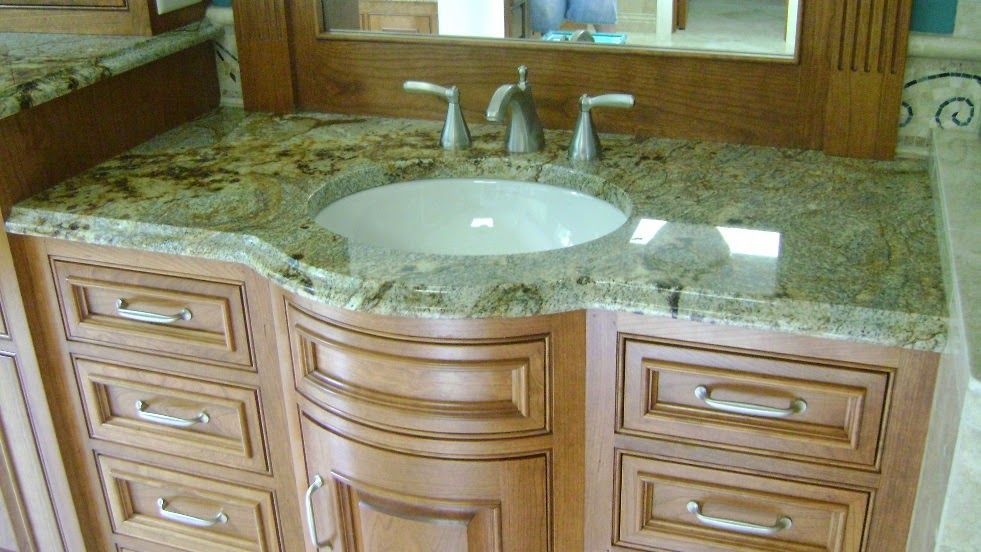 batroom granit counter top
