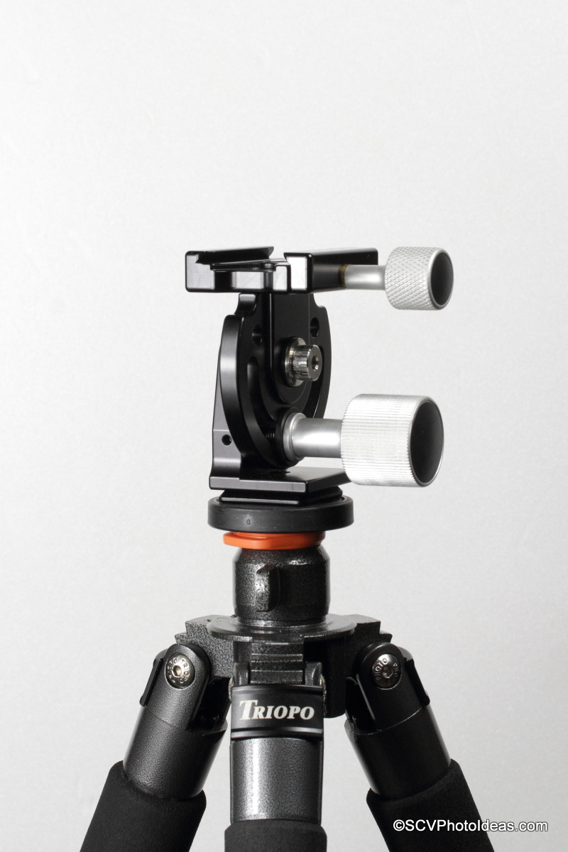Hejnar Photo MHR1 Head mounted on Triopo GX-1328 CF classic tripod