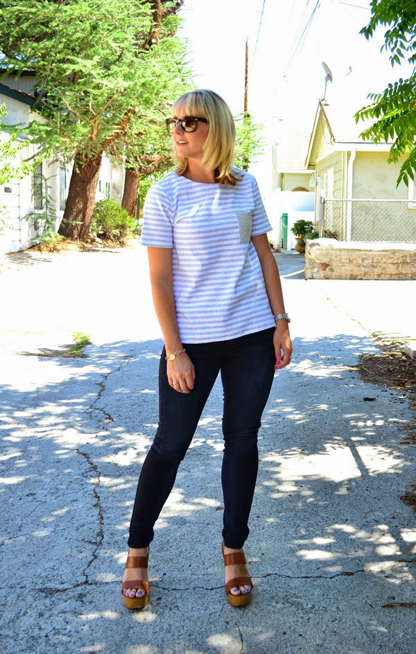 fashion blog, style blog, striped shirt, blogger
