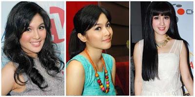 Model Rambut Panjang Wanita Terbaru 2014
