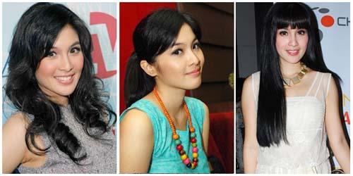 model rambut panjang terbaru 1 Model Rambut Panjang Wanita Terbaru ...