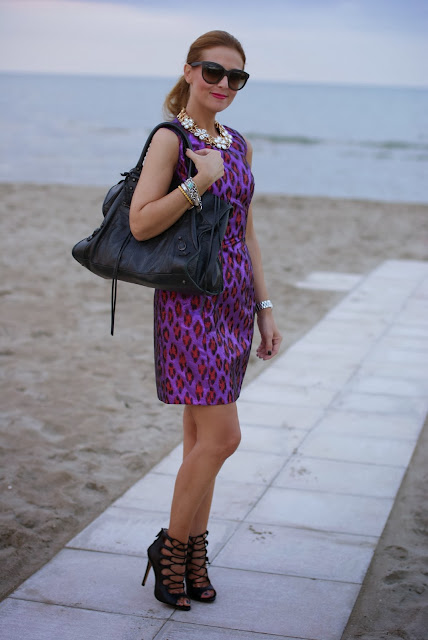 French Connection disco dress, Zara stringate con tacco, Fashion and Cookies, fashion blogger