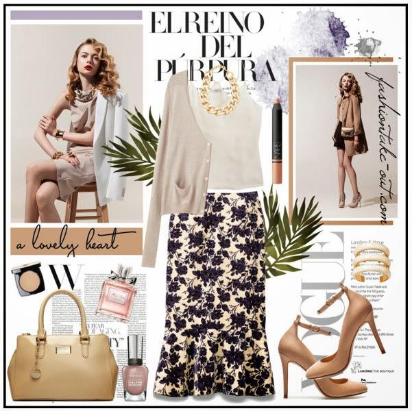 Floral Print Fashion Trends The Tory Burch Kai Skir