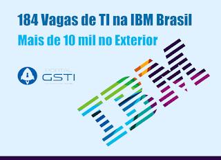 Concorra a uma oportunidade: 184 no Brasil e Mais de 10 mil no Exterior