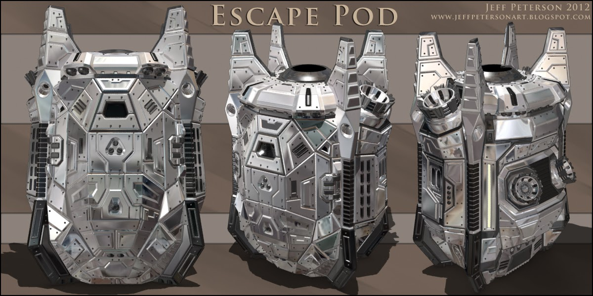 Jeff Peterson 3d Artist New Escape Pod