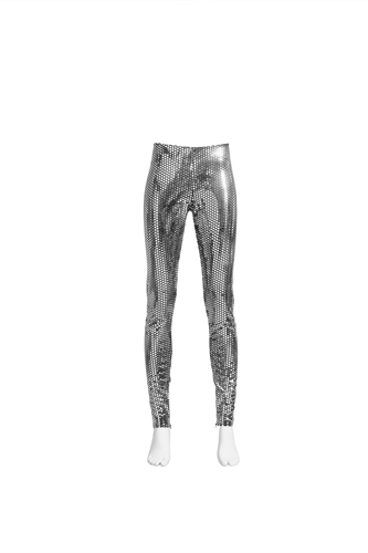 margiela per h&M leggings  pailettes, margiela hm silver leggings, margiela per h&M prezzi, Margiela per h&m collezione, Margiela per h&M price, Margiela for Hm sewuin leggings price