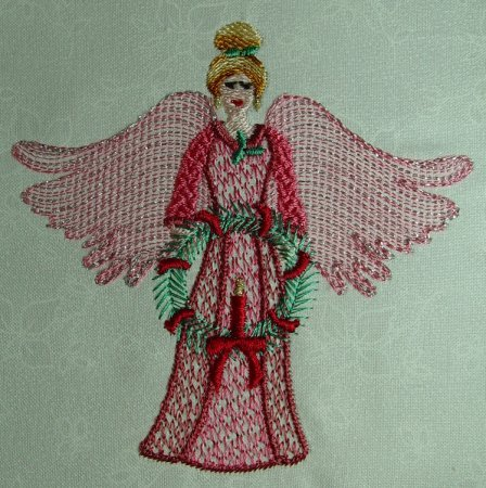 Winters Day Angel