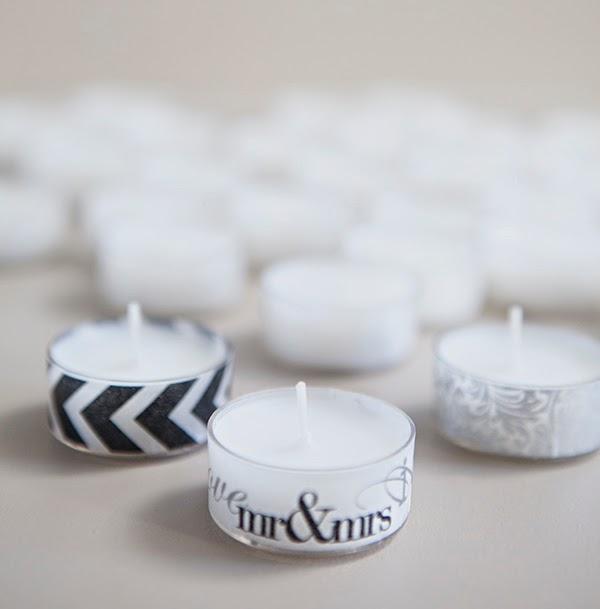 Pocholadas DIY: washi tape y velas La tienda de dibus