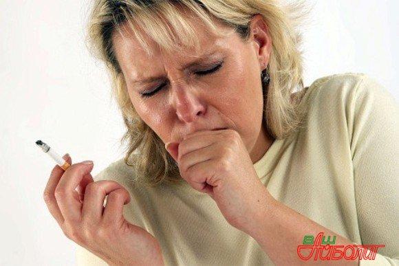 у курящего человека могут быть глисты