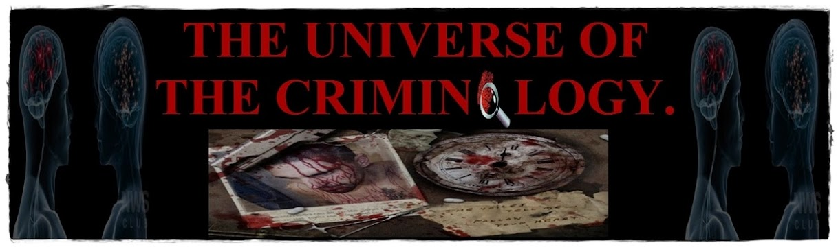 THE UNIVERSE OF THE CRIMINOLOGY.