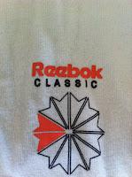 BRITAIN reebok classic white t-shirt