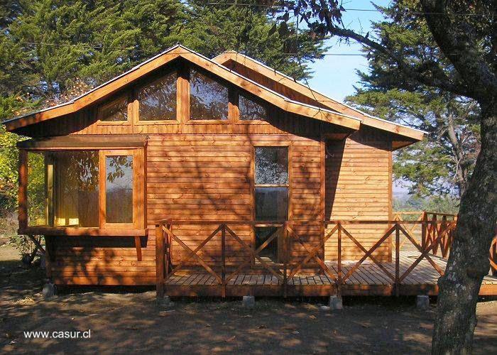 Arquitectura de casas modelos de casas prefabricadas en - Casa madera prefabricada precio ...