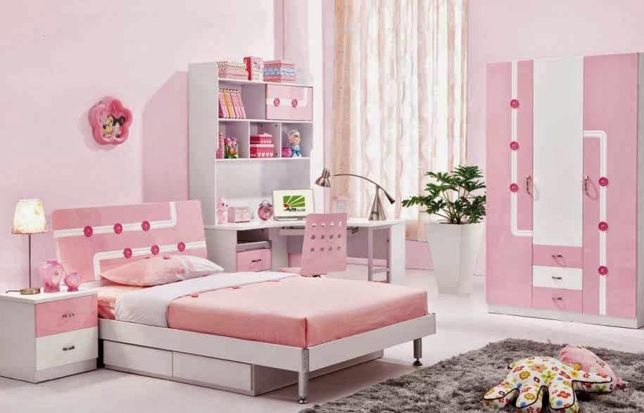 model princess tempat tidur anak perempuan