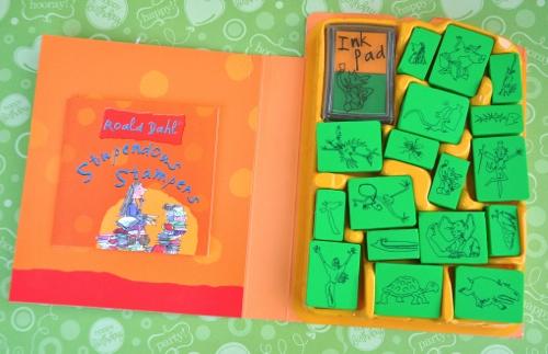 Roald Dahl Stupendous Stampers