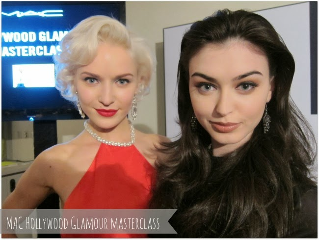 Marilyn Monroe and Angelina Jolie inspired makeup looks