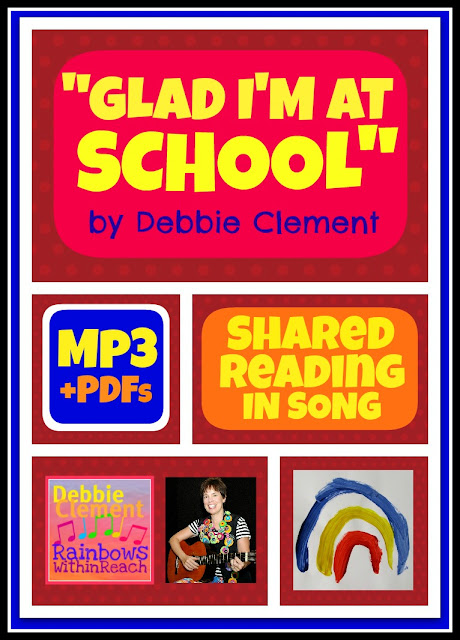 "photo of: ""Glad I'm at School"" Goes Digital (Song by Debbie Clement)"