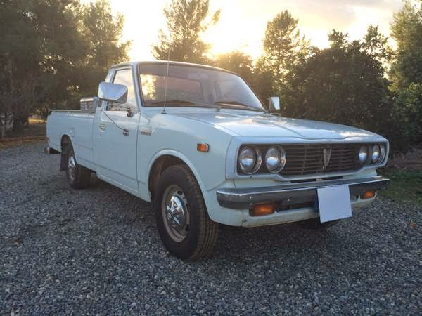 rare all original 1977 toyota hilux longbed pickup auto. Black Bedroom Furniture Sets. Home Design Ideas