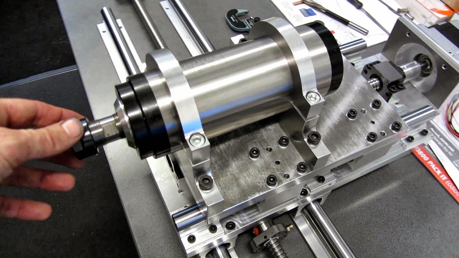 CNC SPINDLE ( AIR COOLED AND WATER COOLED) SAI KRUPA IMPORTS #3C678F