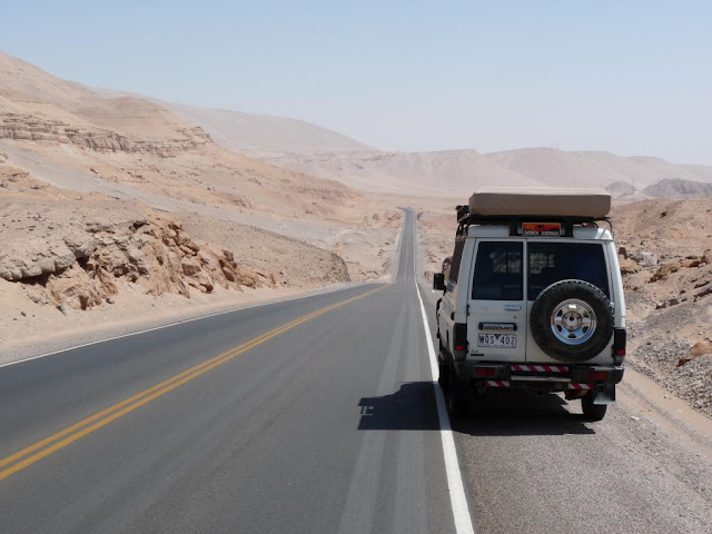 Chile's Arica to Iquique Road