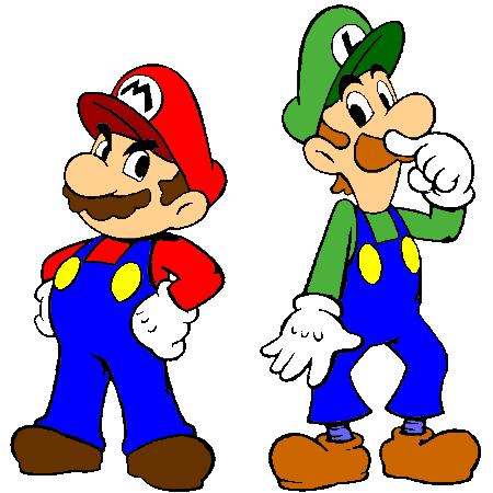 Mario et les blocs de brique dans la vraie vie - Dessin de mario et luigi ...