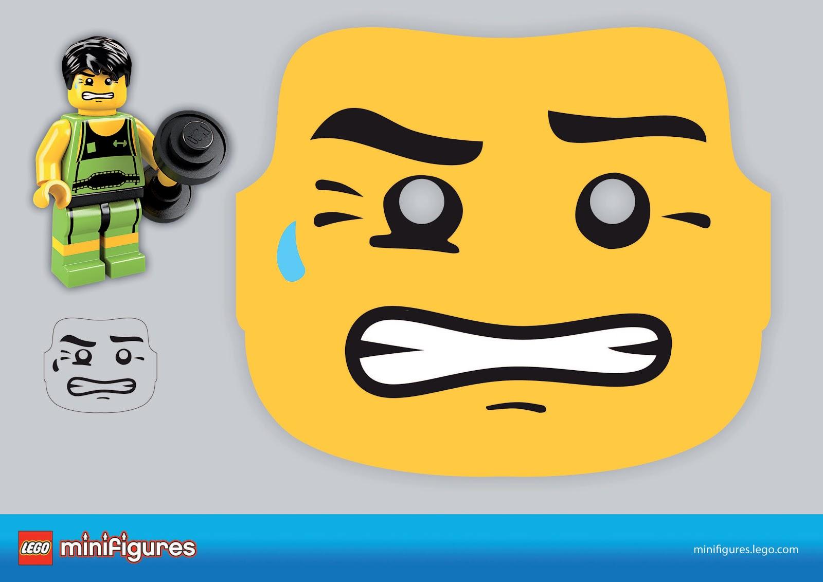 Маска Ninjago (Ниндзяго) 98897-PK1 Маска NINJAGO Джея LEGO 47