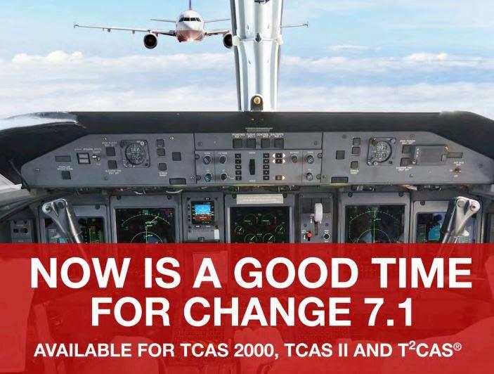 Change 7.1 - изменения ПО для TCAS-систем