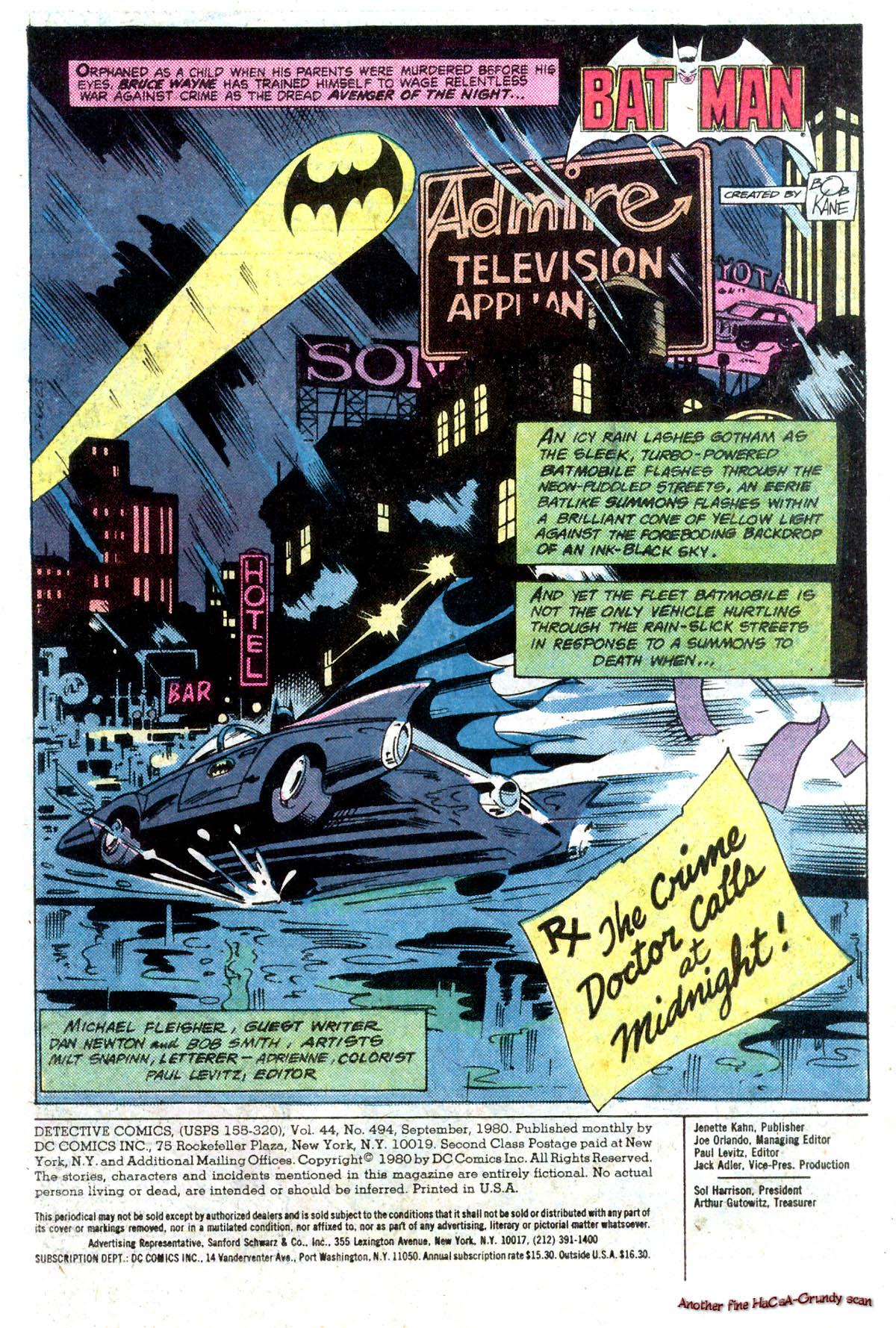 Detective Comics (1937) 494 Page 2