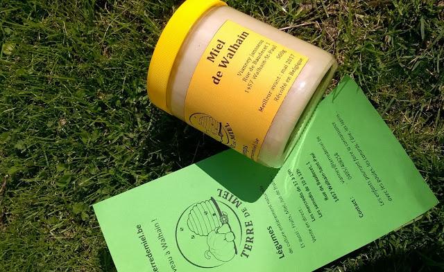 Miel de printemps de Walhain de terre de miel