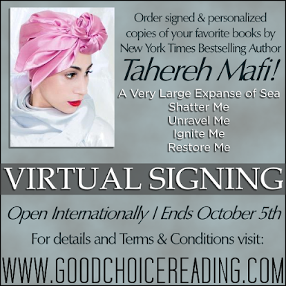 Various books by Tahereh Mafi