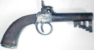 Sleutelgeweer of 'keygun' uit de 17e eeuw