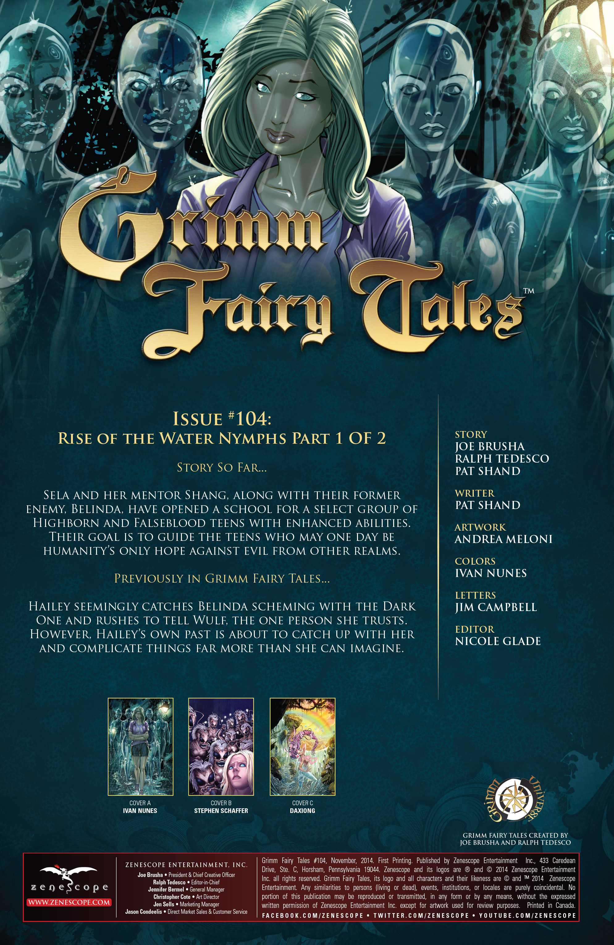 Grimm Fairy Tales (2005) Issue #104 #107 - English 3