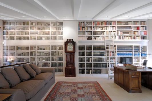 Balda hogar trampantojo - Librerias con escalera ...
