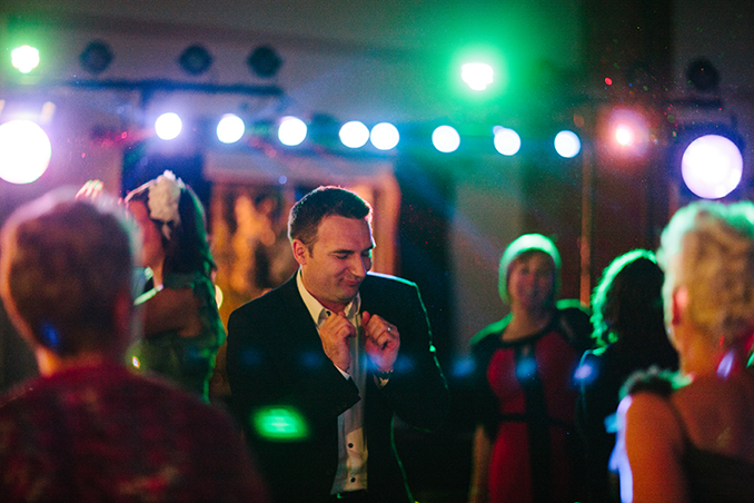 wedding guest dancing to STUDIO 1208 dance party mix