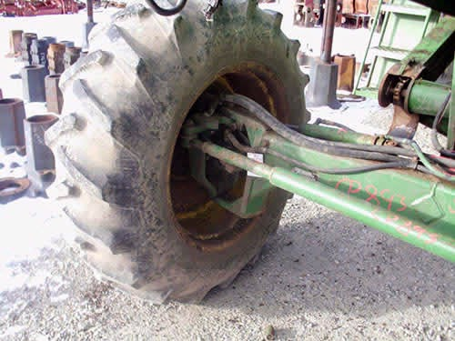 used john deere rear wheel assist