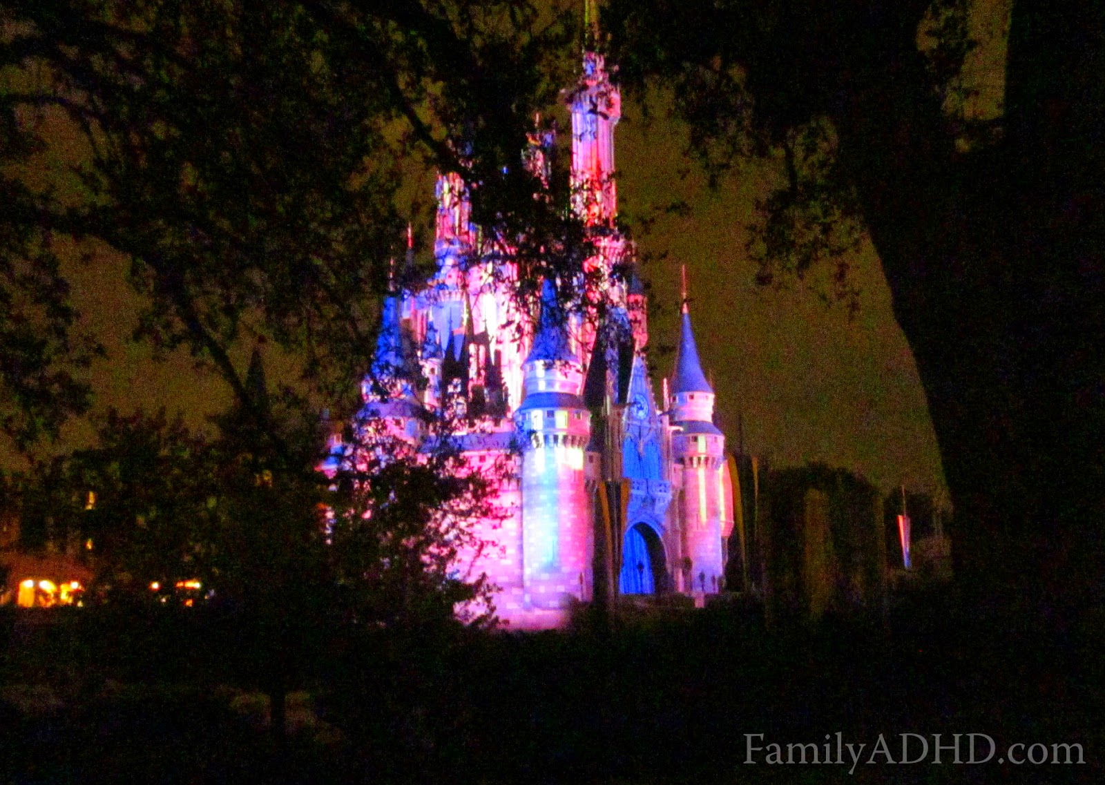 planning a disney world vacation with adhd kids