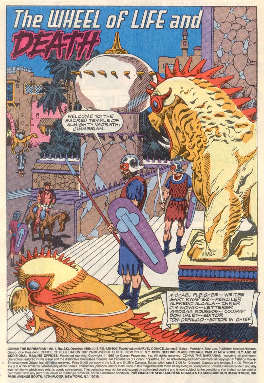 Conan the Barbarian (1970) Issue #223 #235 - English 3