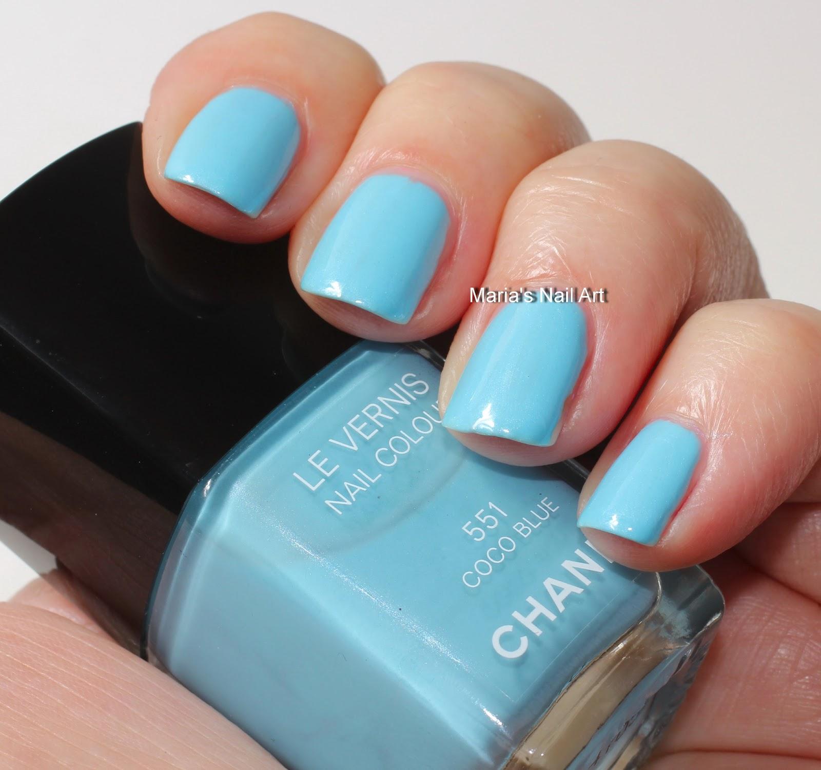 Marias Nail Art and Polish Blog: Chanel Coco Blue 551 - Les Jeans ...