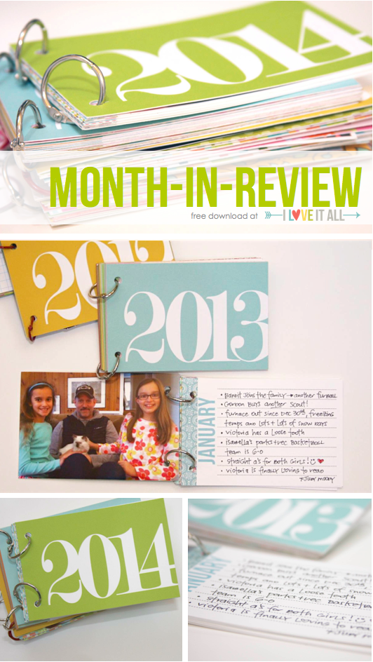 Month In Review Download | iloveitallwithmonikawright.com