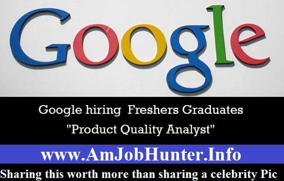 google info job: