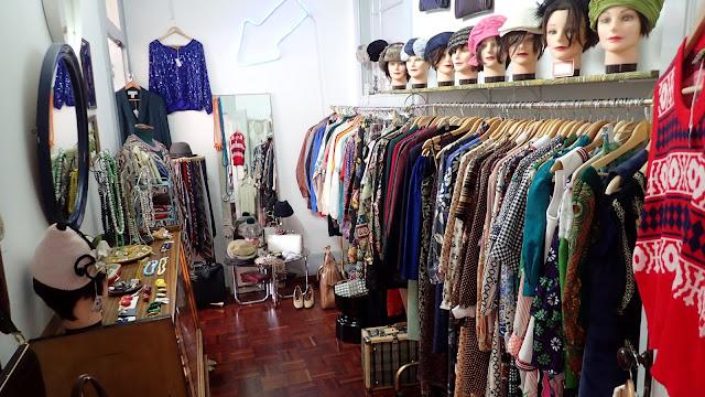 loja vintage, roupa vintage, acessórios vintage, a Porta Verde, Aveiro, Portugal