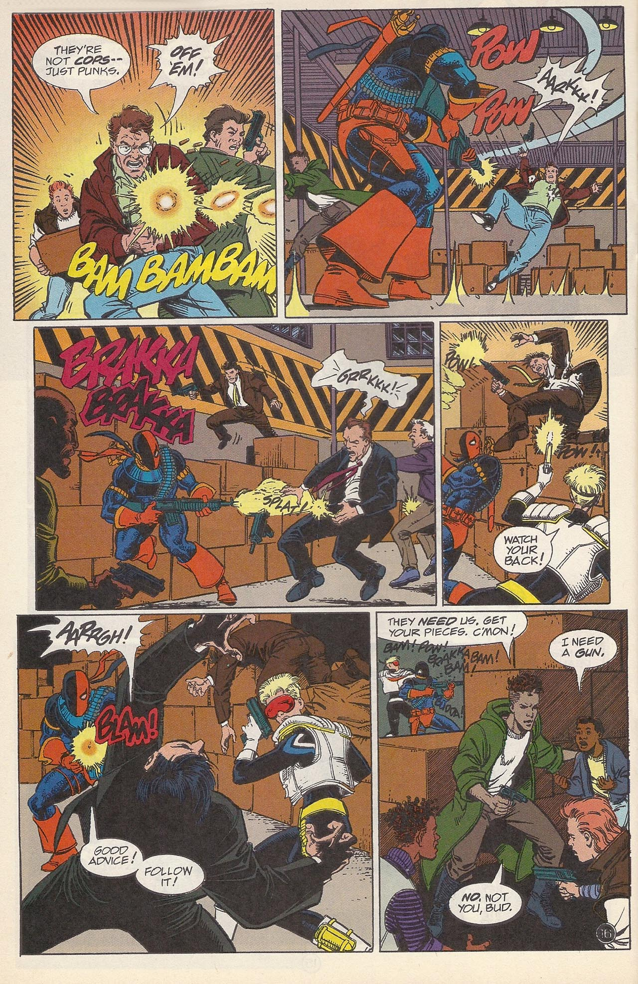 Deathstroke (1991) Issue #10 #15 - English 20